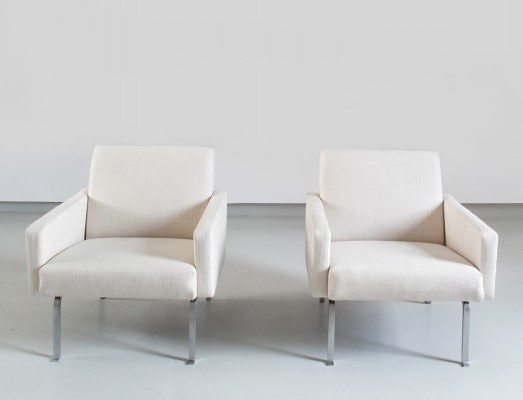 Pair of Geoffrey D Harcourt Lounge Chairs Model 461 for Artifort, Holland 1955