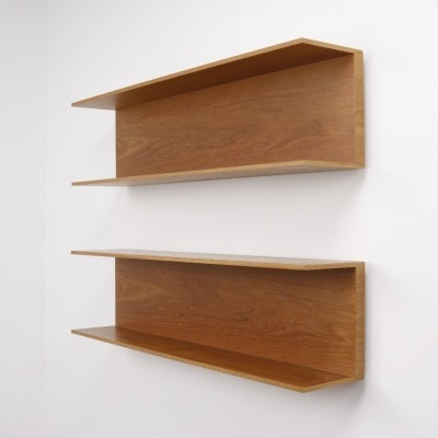 2 x Teak wall unit by Walter Wirz for Wilhelm Renz, 1960s