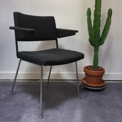 8 x Model 1265 arm chair by André Cordemeyer for Gispen, 1950s