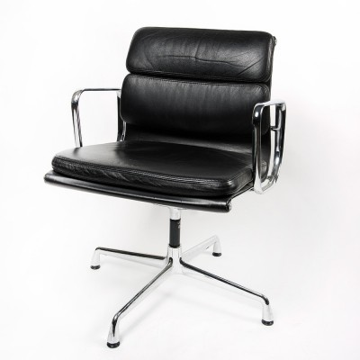 2 x EA208 Softpad office chair by Charles & Ray Eames for Vitra, 1990s