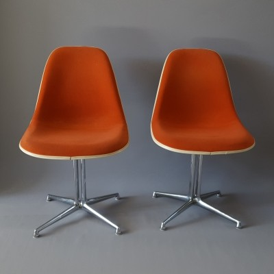 2 x La Fonda dinner chair by Charles & Ray Eames for Vitra, 1960s