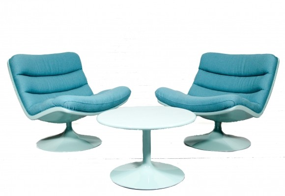 F976 seating group by Geoffrey Harcourt for Artifort, 1960s