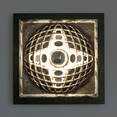 Ceramic Wall Lamp, 1960s