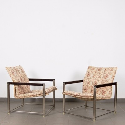 Pair of Petr Švácha arm chairs, 1970s