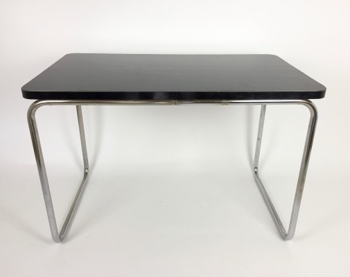 Bauhaus tubular steel desk / table, 1940s
