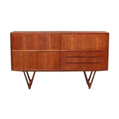 Model 55 sideboard by Kurt Østervig for Randers Mobelfabrik, 1960s