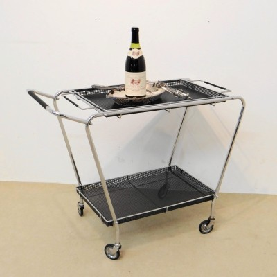 Bar trolley by Mathieu Mategot, 1960s