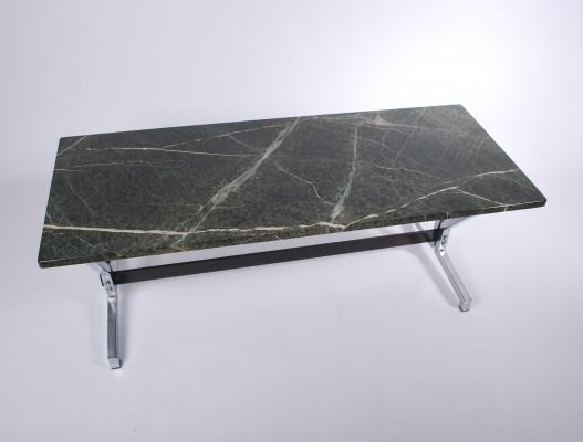 Green Marble Coffee Table, 1960s