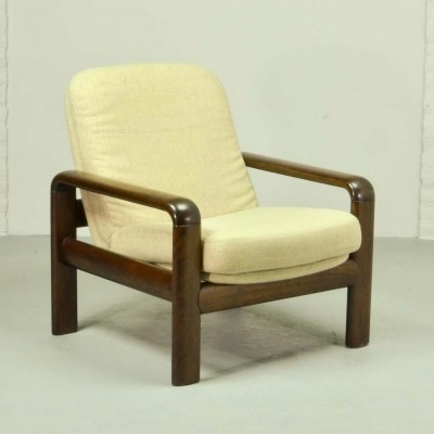 Scandinavian Design Dyrlund Shortback Lounge Chair, 1960s