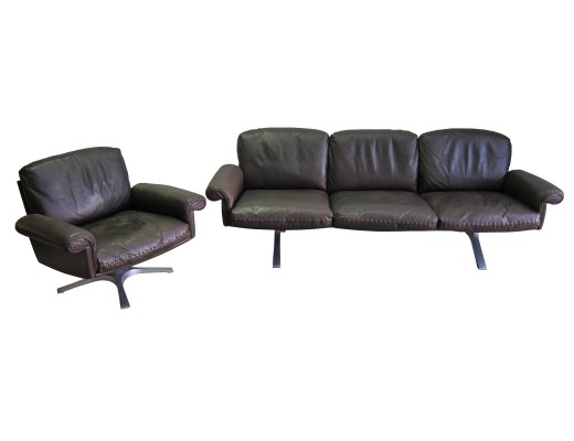De Sede DS 31 sofa set, 1970s