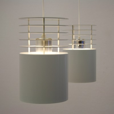 Pair of Hydra 1 hanging lamps by Jo Hammerborg for Fog & Mørup, 1960s