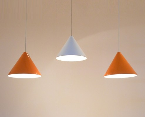 3 x hanging lamp by Arne Jacobsen for Louis Poulsen, 1960s