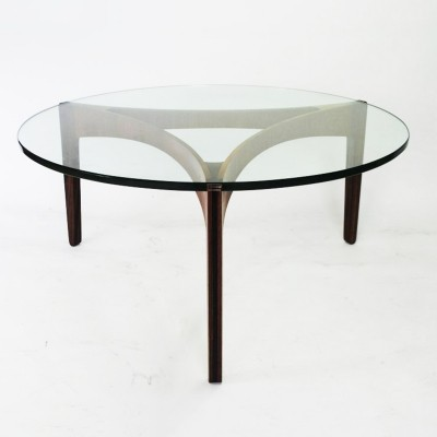 2 x coffee table by Sven Ellekaer for Christian Linneberg, 1960s