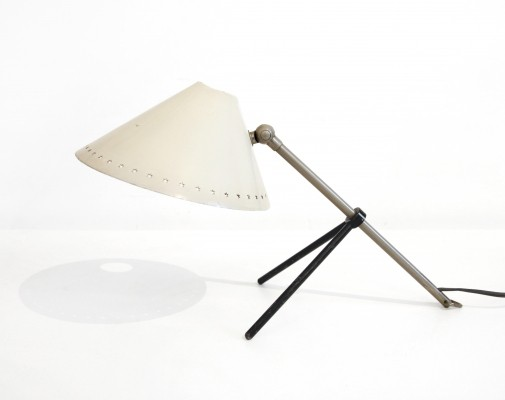 Pinokkio desk lamp by H. Busquet for Hala Zeist, 1950s
