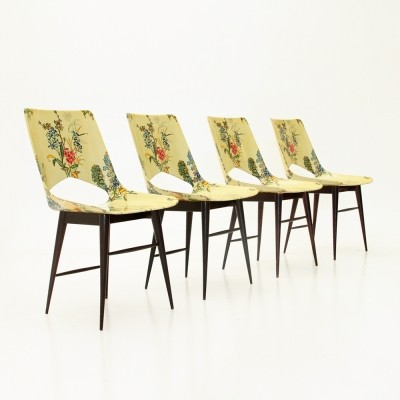 Set of 4 Domus Nostra dinner chairs, 1950s