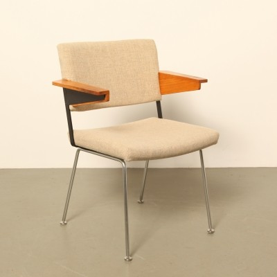 4 x Model 1268 arm chair by André Cordemeyer for Gispen, 1970s