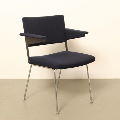 8 x Model 1268 arm chair by André Cordemeyer for Gispen, 1970s