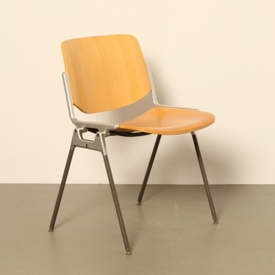 100 x DSC 106 dining chair by Giancarlo Piretti for Castelli, 1960s