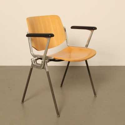 100 x DSC 106 dinner chair by Giancarlo Piretti for Castelli, 1960s