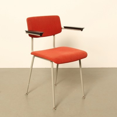 Red Gispen arm chair, 1960s