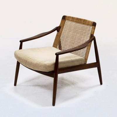 Mid-Century Lounge Chair by Hartmut Lohmeyer for Wilkhahn, 1950s