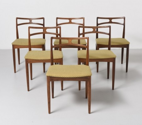Set of 6 Rosewood chairs by Johannes Andersen for Christian Linneberg
