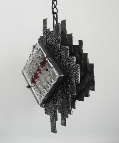 Poliarte hanging lamp, 1970s
