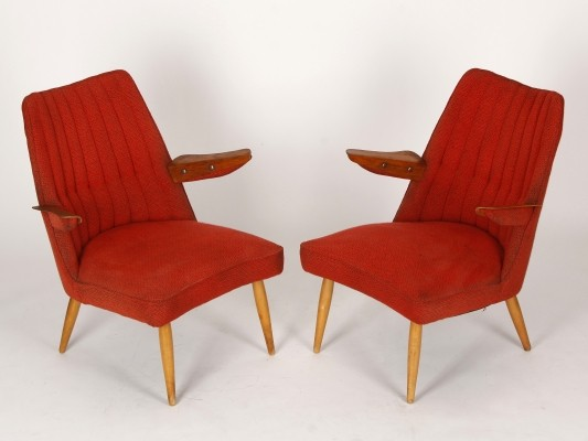 A pair of Czechoslovakian Midcentury Chairs, 1950s