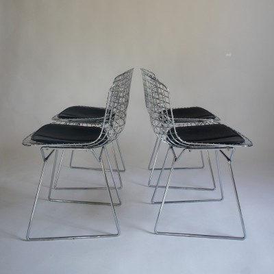 4 x Wire dinner chair by Harry Bertoia, 1960s