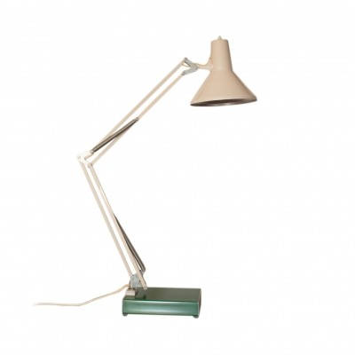 Vintage architect table lamp by HCF, Denmark