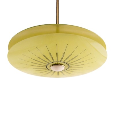 Space Age UFO ceiling lamp made in Germany, 1960s