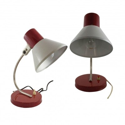 Set of two Mid-Century table lamp by Gutilux, 1960s