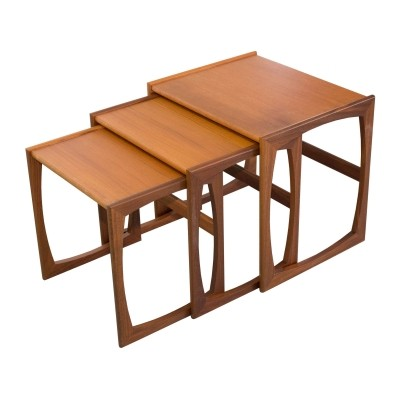 Set of 3 nesting tables made by G-Plan, 1960s