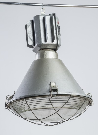 8 x Large industrial ORP250-01 lamp, 1990s