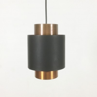 Tunika hanging lamp by Jo Hammerborg for Fog & Mørup, 1960s