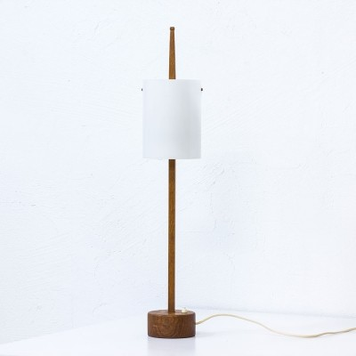 Desk lamp by Uno Kristiansson & Östen Kristiansson for Luxus, 1950s