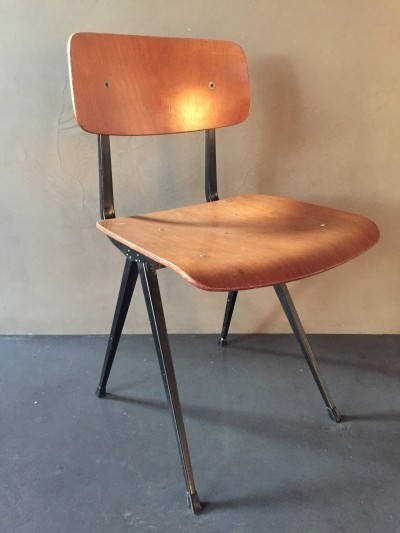 8 x Result dining chair by Friso Kramer for Ahrend de Cirkel, 1960s