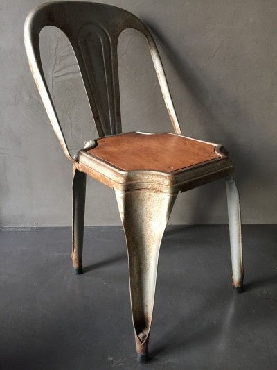 2 x Fibrocit dinner chair