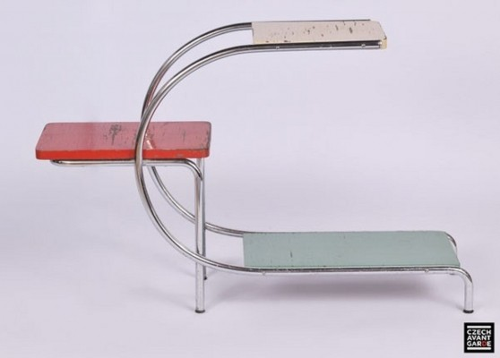 Model 715 side table by Gottwald Hynek, 1930s