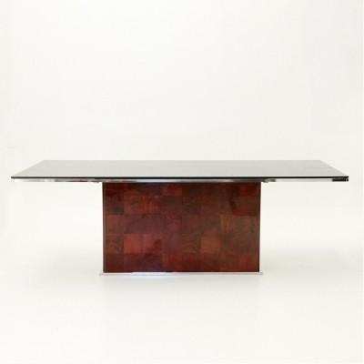 Dining table by Willy Rizzo for Mario Sabot, 1970s