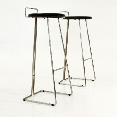 Pair of stools by Georges Coslin for Dada, 1970s