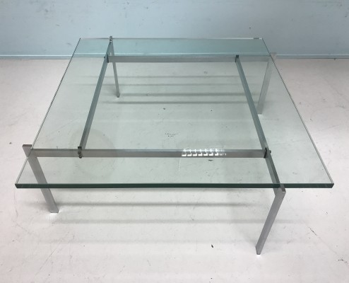 PK 61 coffee table by Poul Kjærholm for Ejvind Kold Christensen, 1960s
