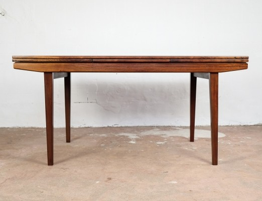 Extendable Danish table in rosewood, 1960s