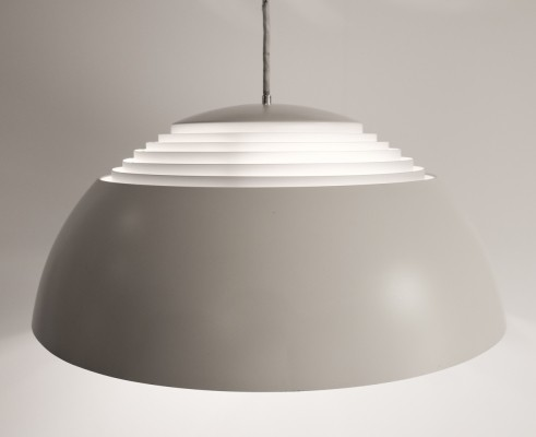 Off-white AJ Royal lamp by Arne Jacobsen for Louis Poulsen