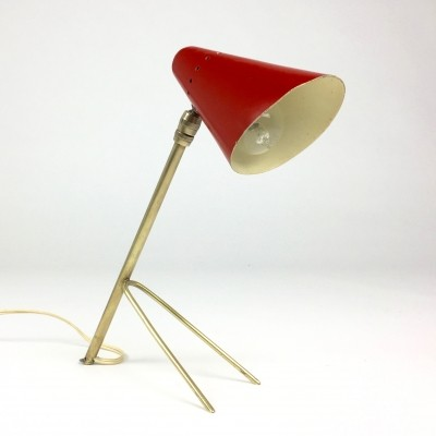 Cocotte desk lamp by Jean Boris Lacroix, 1950s