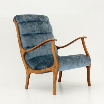 Mitzi arm chair by Ezio Longhi for Elam, 1950s