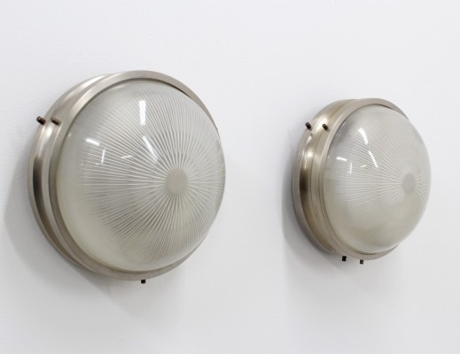 Pair of Sigma wall lamps by Sergio Mazza for Artemide, 1950s