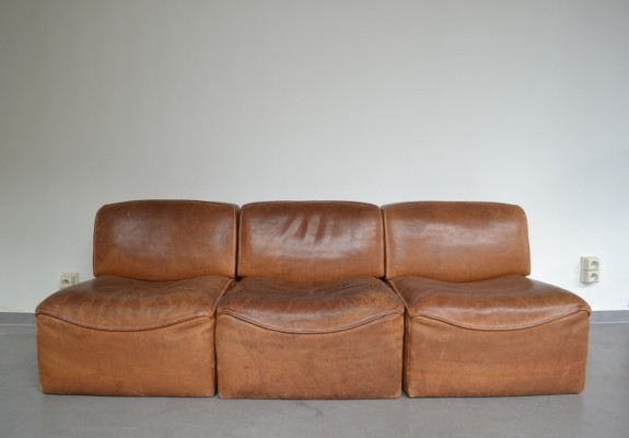 DS 15 sectional sofa by De Sede, 1970s