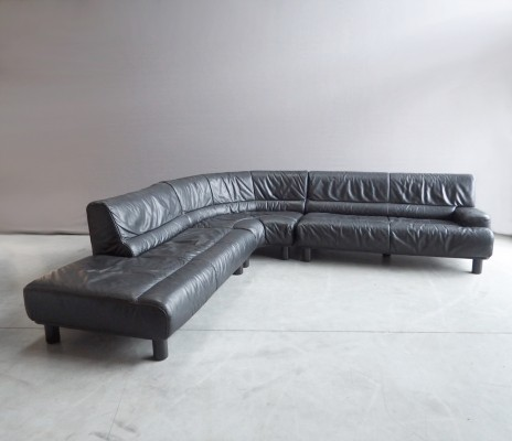 DS18 sofa by De Sede Design Team for De Sede, 1980s