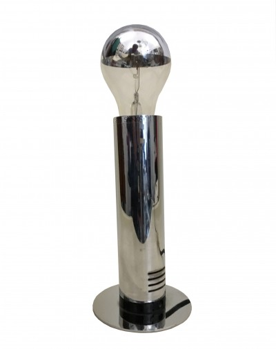 Chrome table lamp by Targetti